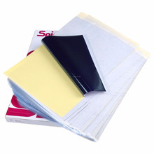 100 Bettwäsche Tattoo Carbon Thermal Schablone Transfer Papier 8.5x11 Tracing