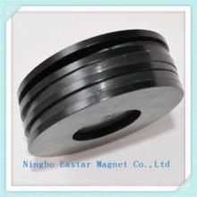 N42 Zinc Plating Big Ring NdFeB Magnet