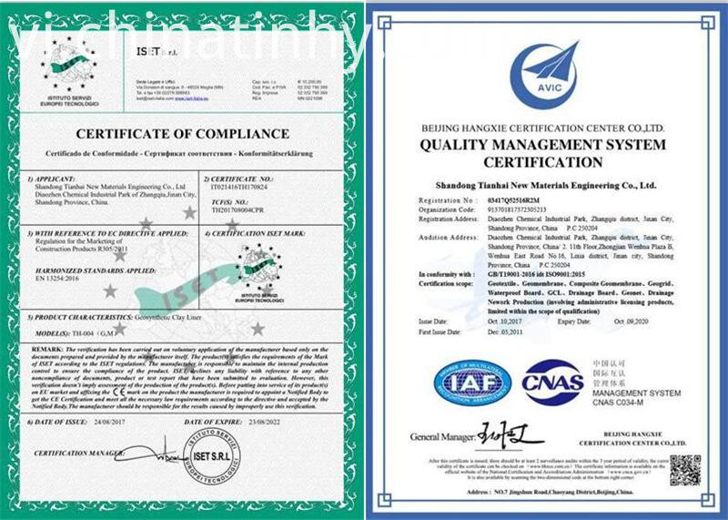 CE& ISO of GCL