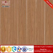 Diseño de tienda de suministro de fábrica de China baldosa cerámica de madera rústica