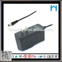 21v 500ma адаптер переменного / постоянного тока с UL cUL SAA GS FCC ROHE CE KC