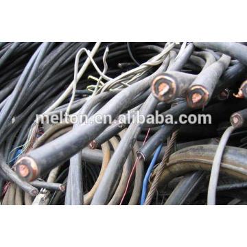 Câble de cuivre isolé avec une pureté de 65%