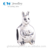 Animal Accessories Jewelry Bracelet Model Sterling Silver Animal Charms T031