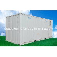 Compresor de aire de tornillo rotativo con sistema de contenedor con tanque de aire (KCCASS-18 * 2)