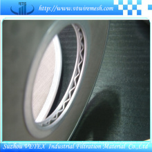 Plain Weave Stainless Steel Filter Disc