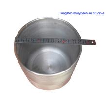 99,95% de creuset de tungstène fritté pressé pur