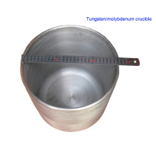 99.95% Pure Pressed Sintered Tungsten Crucible