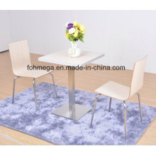 Two Seater Dining Table Set with Aluminum Sealing (FOH-NCP15)