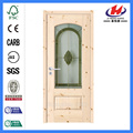Jhk-G06 Favio Greenfield Glass Panel Wooden Doors