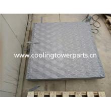Remplissage de la tour de refroidissement de la broche carrée en PVC