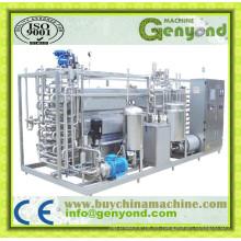 Máquina de pasteurización de acero inoxidable para leche