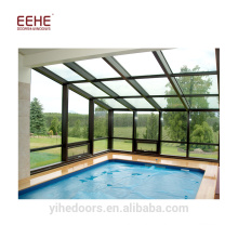 Conservatory glass sunroom sunroom panels for sale