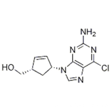 2-Cyclopentene-1-methanol,4-(2-amino-6-chloro-9H-purin-9-yl)-,( 57193125,1S,4R) CAS 136522-33-3