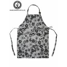 Kundengebundene erwachsene kundengebundene Küche BBQ-Schürze mit gedrucktem u. Stickerei