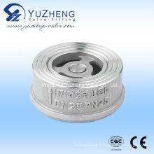 Fabricant de clapets anti-retour en acier inoxydable en Wafer en Chine
