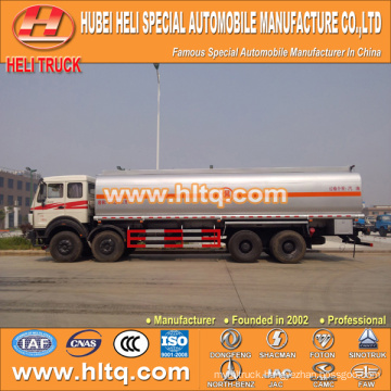 North-Benz 8X4 30000L fuel tanker truck cheap price hot sale for export