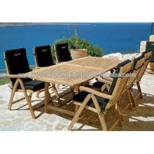 Teakholz Massivholz Außen- / Gartenmöbel-Set