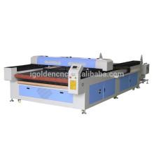 Máquina de corte por láser Shan dong 1530 automática textil