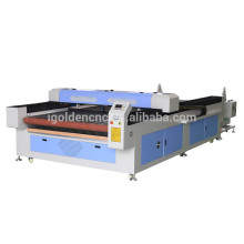 Shan dong 1530 automatic textile fabric laser cutting machine