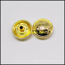 Блестящий цвет золота оснастки Кнопка для пальто