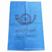 Factory price green polypropylene bag export to russia by made in china