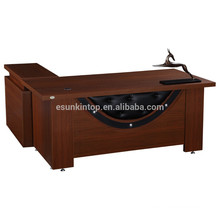 factory wholesale melamine computer desk table for CEO