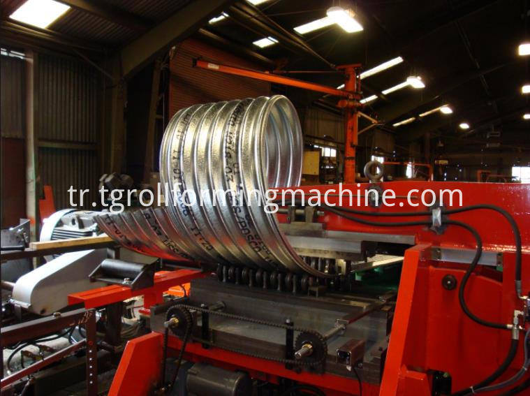 Corrugated Culvert Pipe Making Machine
