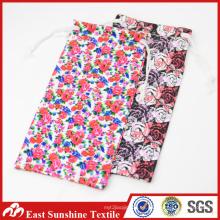 Bolsas de Sunglass de encargo, caso de la limpieza de Microfiber, bolso de la bolsa del sostenedor de las gafas de sol de la tela del microfiber del diseñador