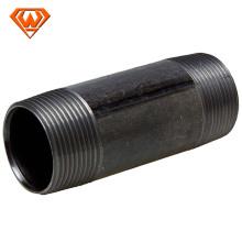 mamilos de tubos de aço parafusados longos pretos com padrão russo