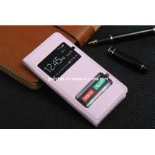 Два окна открыть дизайн загораются Телефон случае для iphone5 5С флип кожаный чехол