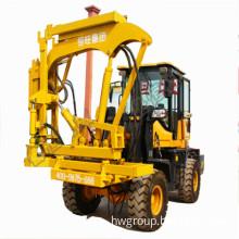 Full hydraulic guardrail pile driver price