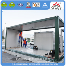 (EPS/PU/XPS/Rockwool+)Sandwich wall panel china prefabricated homes