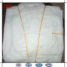Wholesale Factory Direct Cheap Price Waffle /Cotton/Coral Fleece White Bathrobe Set