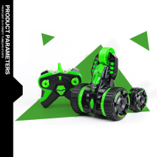 Volantex 360 rotation stunt rolling double sided rc car for kids