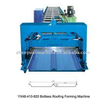 Máquina de formação de frio conjuntamente escondida, máquina de fazer painel de telhado, máquina de formação de rolos $ 6000-30000 / conjunto