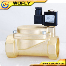 2 position 2 way pilot diaphragm normal close solenoid valve
