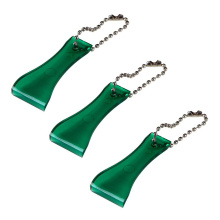 OEM for Chrome Metal Keychain Mini Give Away Gift Lottery Scraper with Ballchain export to Netherlands Wholesale