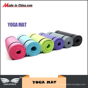 Cardio Fitness Anti-Rutsch-Waschbar NBR Yoga-Matte