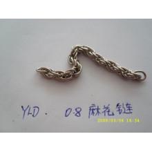 Chaussure à chaîne / chaîne à main en métal de haute qualité vendue à la vente