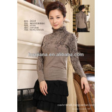 2015 autumn women's worsted cashmere sweater