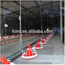 broiler flooring ground feeding system/ poultry automatic pan feeding system