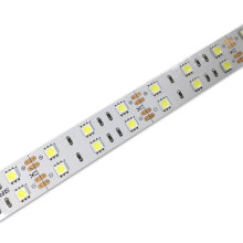 5050LED tiras de doble fila