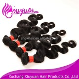 5A raw unprocessed body wave virgin brazilian hair extension