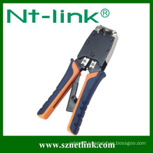 Colorful handle coaxial crimping tool