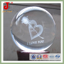 Kristall-Innen-Lasergravur-Kugel (JD-CB-104)