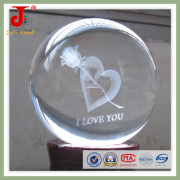 Crystal Inner Laser Engraving Ball (JD-CB-104)