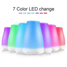 Essential air aroma diffuser with 7 color 100ml