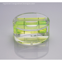 Professional Acrylic Vial Round Shape