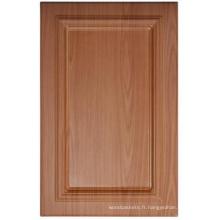 Porte de placard de cuisine de PVC (HLPVC-17)