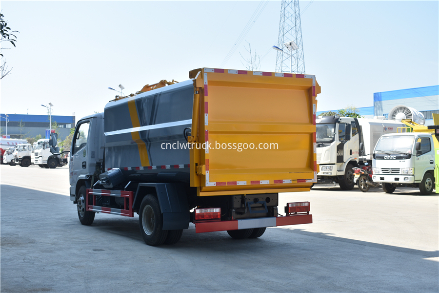 kitchen waste truck cost